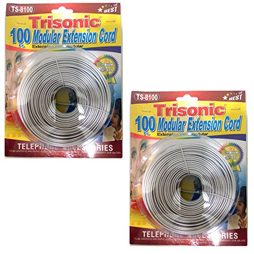 100 feet phone cable - 7