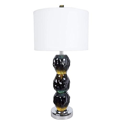 Amazon.com: Van turquesa Oceana azul y verde lámpara de mesa ...