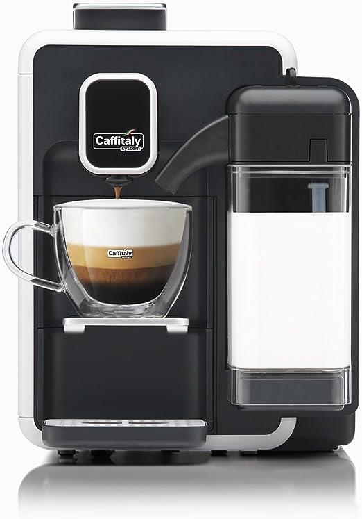 Caffitaly - Modelo Bianca S22. Máquina eléctrica de café + Kit de degustación con 50 cápsulas: Amazon.es: Hogar