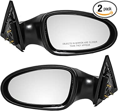 New Passengers Manual Side View Mirror Glass Housing for Nissan Sentra 200SX