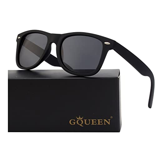 eba2f3ad125 Amazon.com  GQUEEN Classic Brand Design Polarized Sunglasses for Men ...