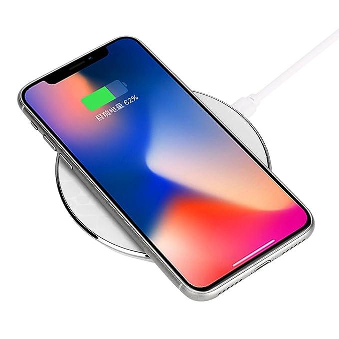 Para Samsung para iPhone 8/8 Plus/X portátil cargador ...