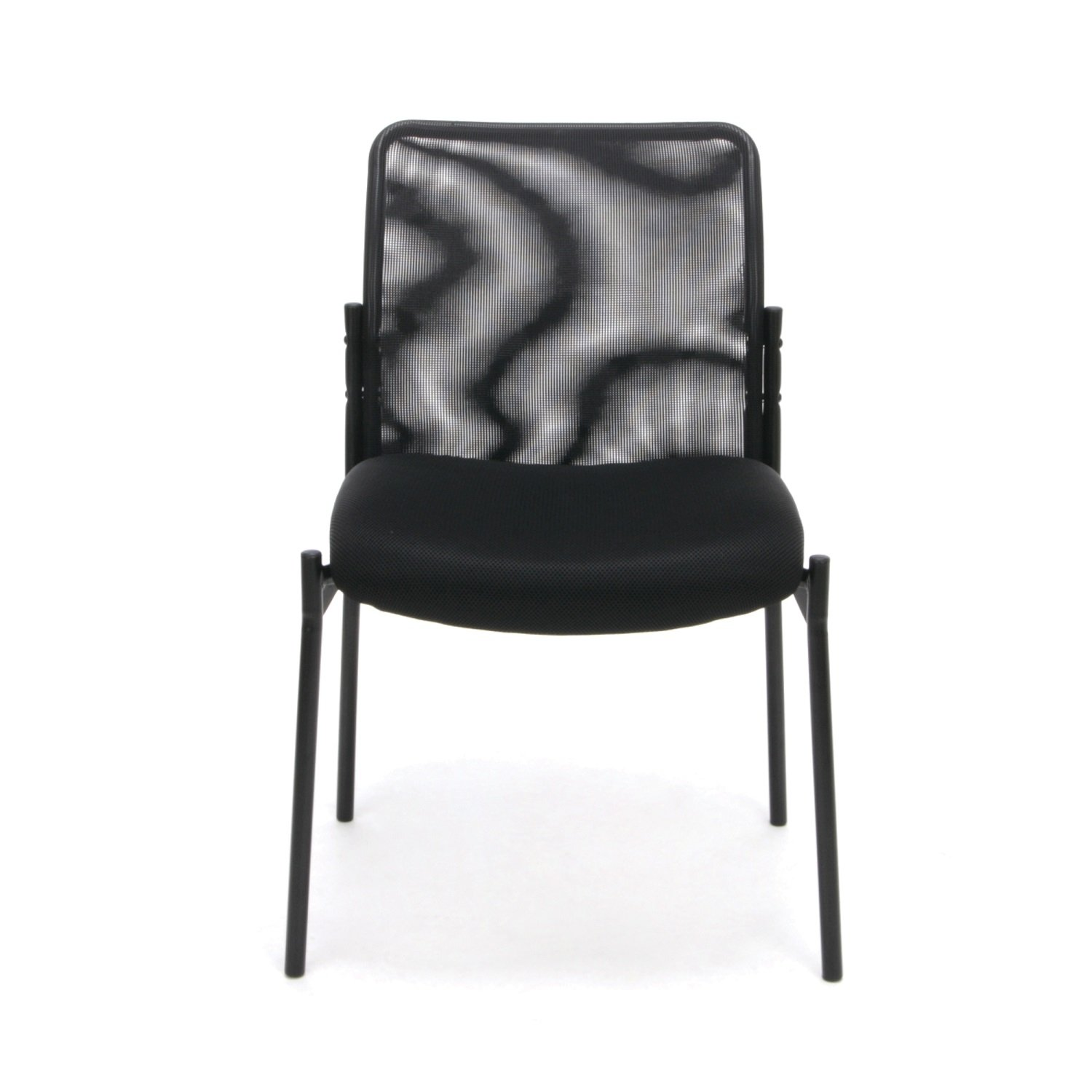 Amazon Essentials Mesh Upholstered Stacking Armless Guest