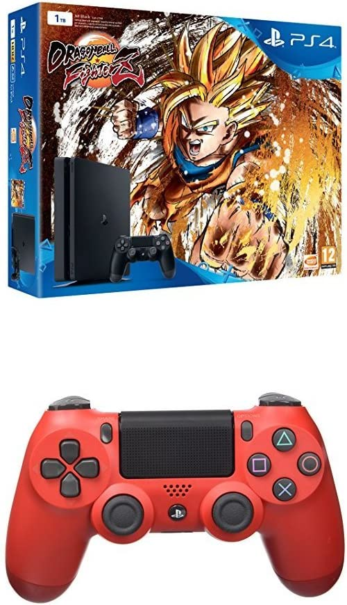 Playstation 4 (PS4) - Consola + Dragon Ball FighterZ + Dualshock 4 ...