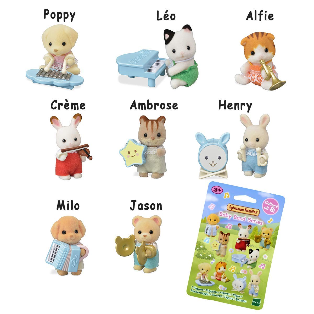 Amazon.es: Sylvanian Families bolsita Surprise Serie 1-Les bebés musiciens-5325 Figuras de collectionner-Mini-Univers, 5325: Juguetes y juegos