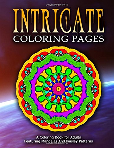 INTRICATE COLORING PAGES - Vol.8: coloring pages for girls (Volume 8) pdf epub