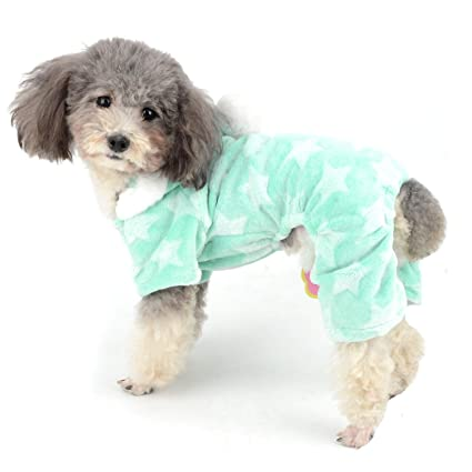 tiendas populares estilo limitado zapatos genuinos Ranphy Pijama para Perro Flecce Overol Invierno Chica Pjs ...