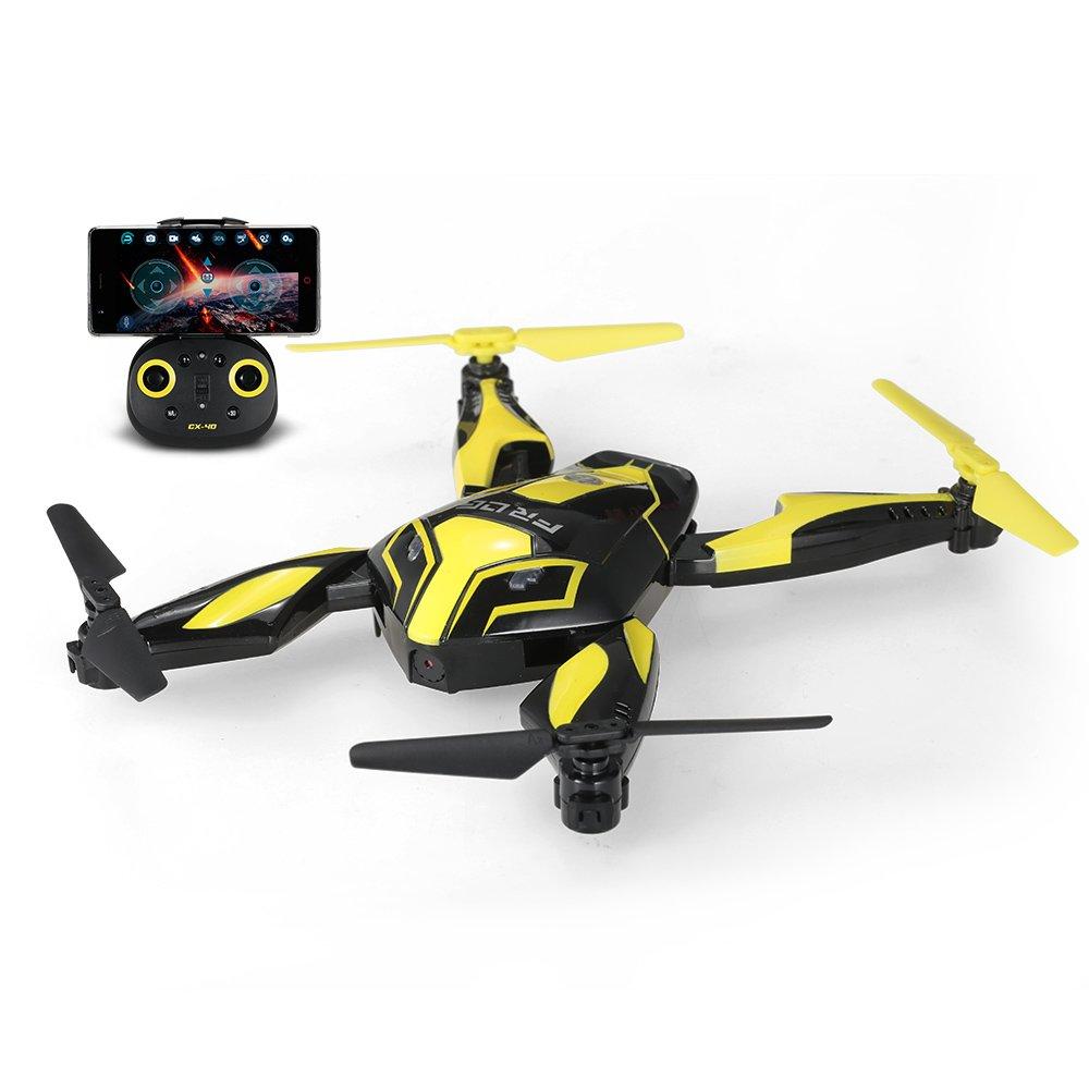 Goolsky Cheerson CX-40 Wifi FPV Faltbare Frosch Drohne mit 0.3MP Kamera Höhe Halten Optischer Durchflusssensor Programmierbare Selfie Quadrocopter