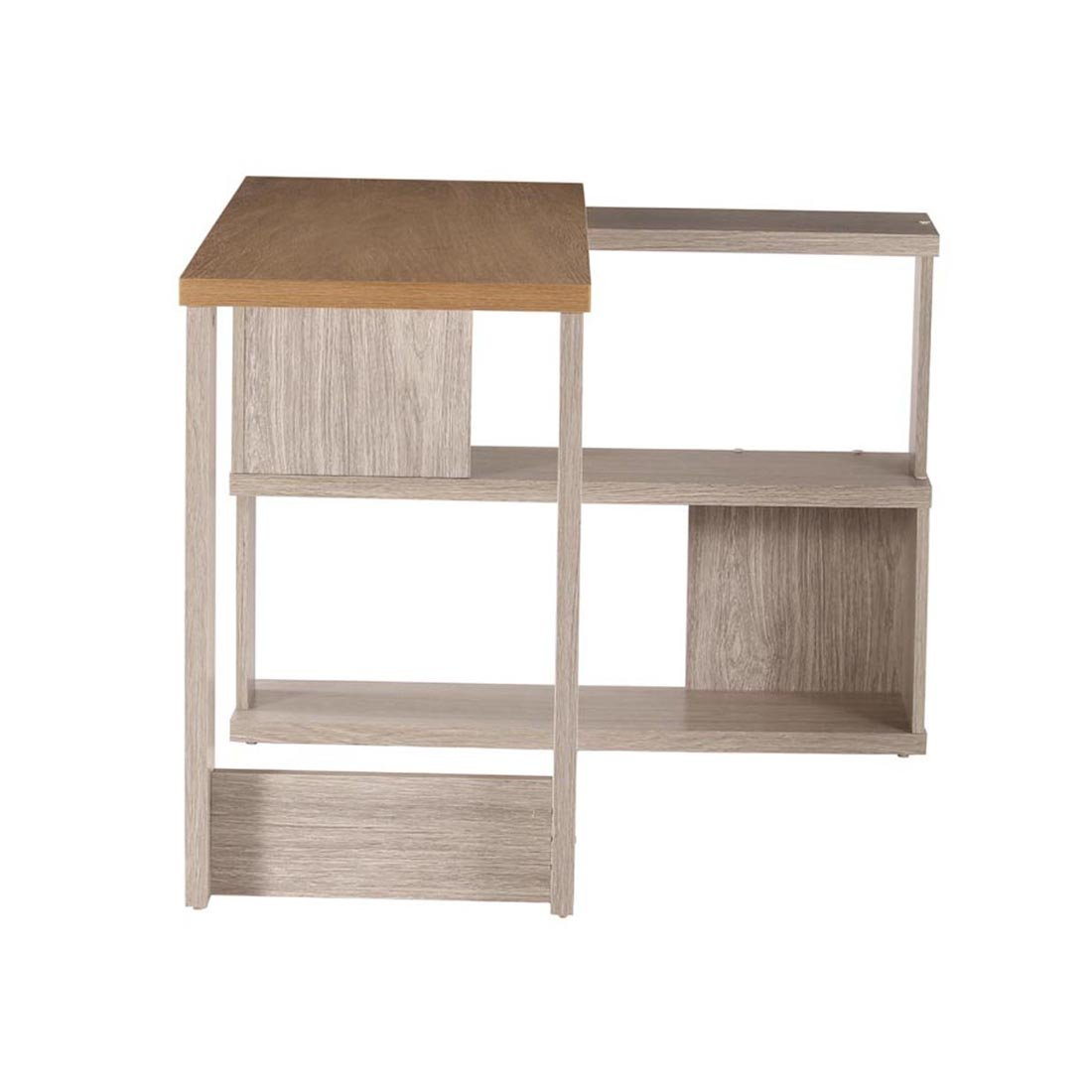 Woodness chicago y engineered wood l shaped computer desk matte finish grey oak amazon in home kitchen