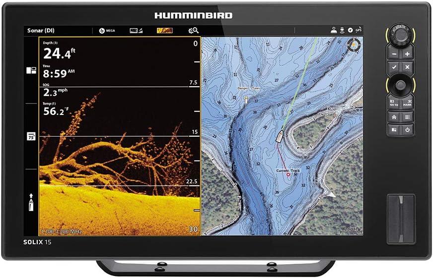 Humminbird Solix 15 Chirp MegaDI+ G2, No Xdcr: Amazon.es: Deportes ...
