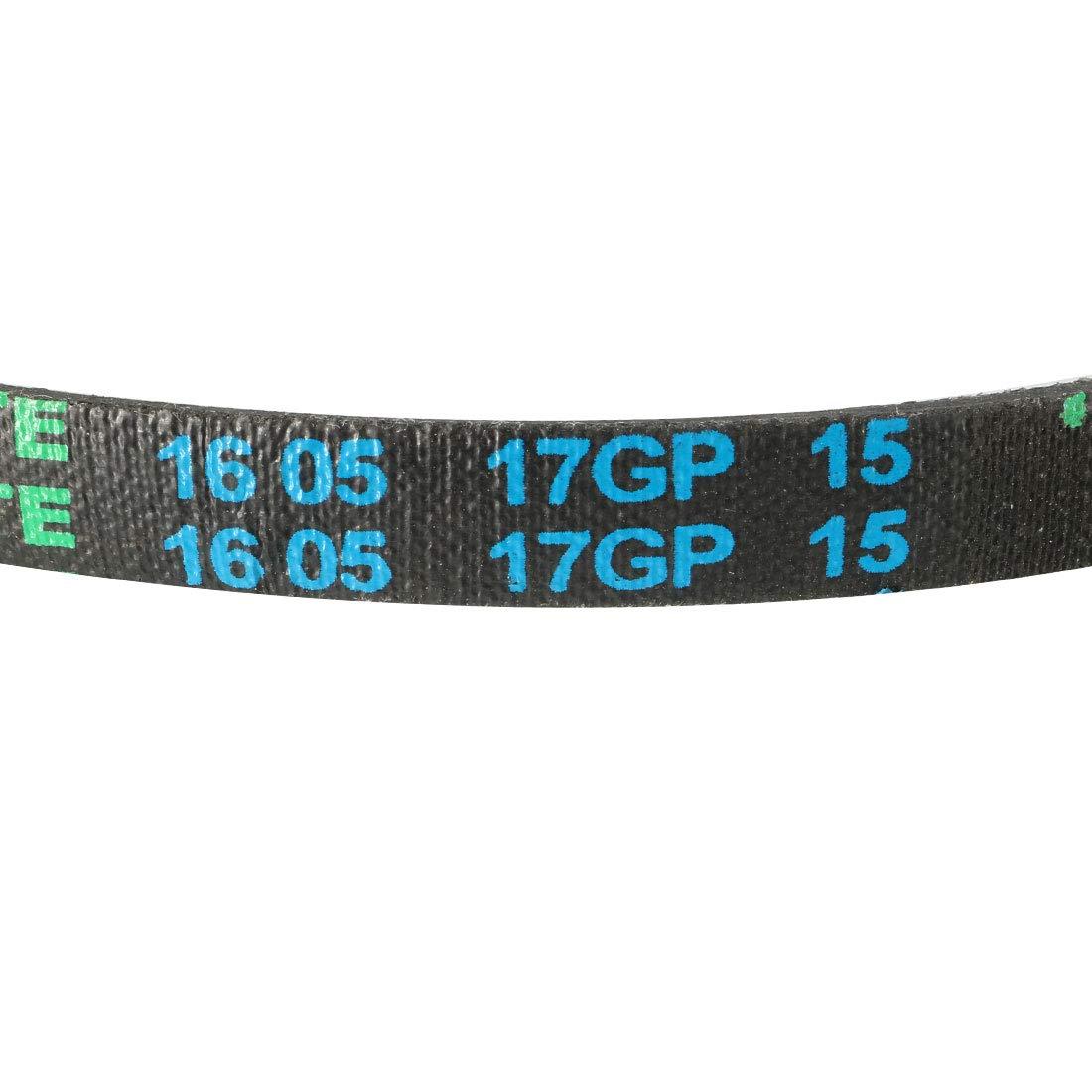 sourcing map M-21 V Belt Machine Transmission Rubber,Black Replacement Drive Belt