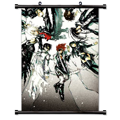 (D Gray Man Anime Fabric Wall Scroll Poster (32x51) Inches. [WP]-D Gray Man- 253(L))