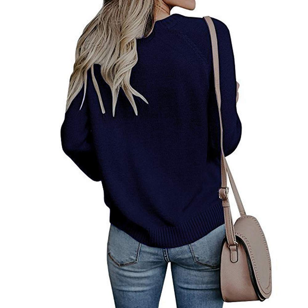 ShenPr Womens Casual Cable Knitted Crewneck Heart Love Oversized Pullover Sweater Jumper Tops ShenPourtor
