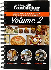 CanCooker Vol. 2 Step-by-Step Cookbook, 90+ Recipes, Standard, Multi, Model:563435