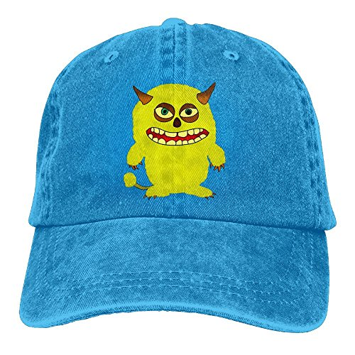 Cute Monster Baseball Caps Adult Sport Cowboy Trucker Hats Adjustable RoyalBlue By - Mall Stores Jacksonville In