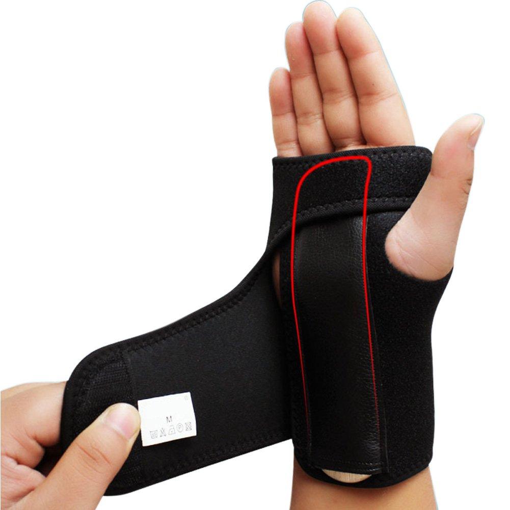 SZTARA Wrist Support Hand Palm Brace Support Band Carpal Tunnel Splint Protector Arthritis Sprains Strain