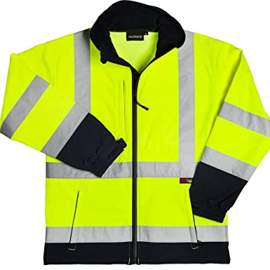 Warrior - Chaqueta Softshell Reflectante Hi-Vis para Hombre ...