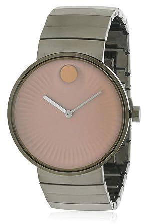 Movado Edge Reloj de hombre cuarzo suizo 40mm color gris 3680023: Amazon.es: Relojes