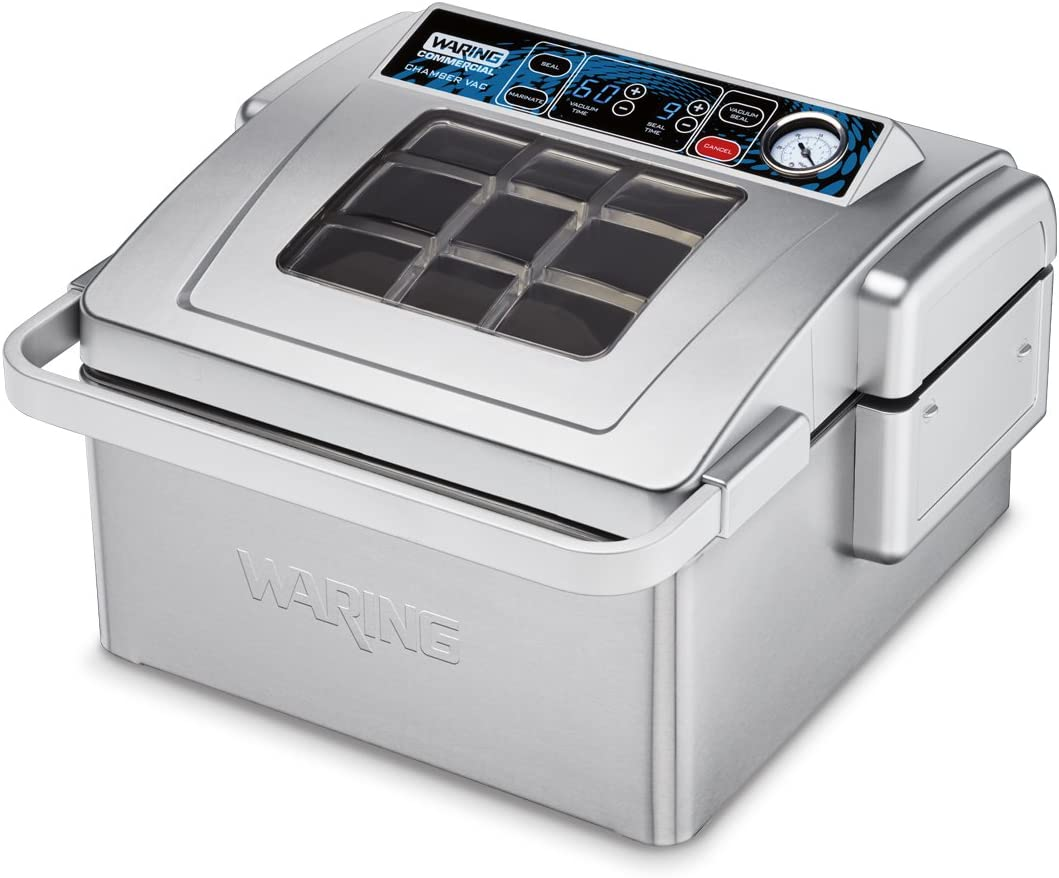 Waring Commercial WCV300 Vacuum Sealer, Silver