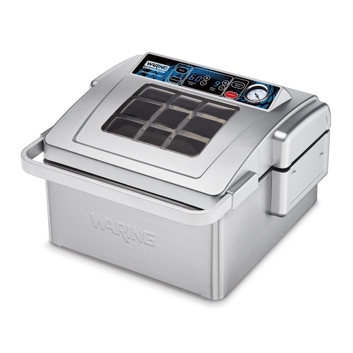 Waring Commercial WCV300 Vacuum Sealer, Silver