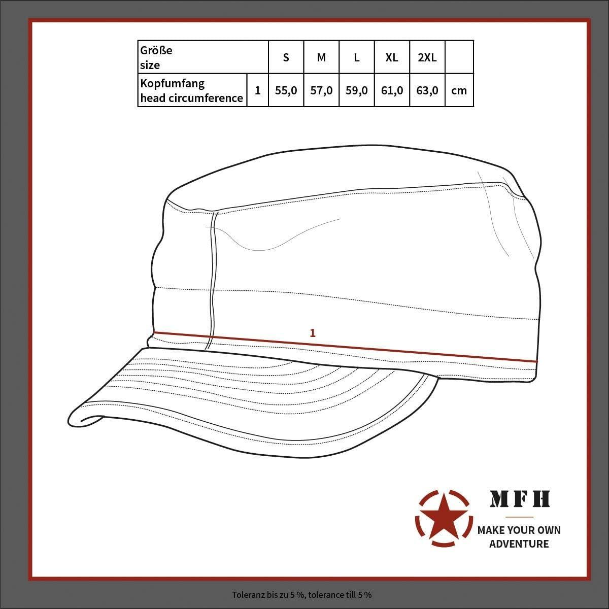 Mil-Tec Boonie Hat ACU at-digital Gr/ö/ße L