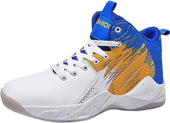 Zapatillas Basket Zapatillas Running Hombre Asfalto Sneakers Ligero Y Comodo Atletismo Calzado Net para Estudiante, Deportivas Hombre Ligero Caminar Transpirables: Amazon.es: Zapatos y complementos