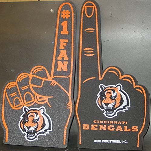 Rico Industries NFL Cincinnati Bengals Foam Finger