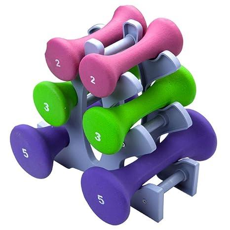 Generic ies E Fitness - Mancuernas de Hierro para Hombre y Mujer (6 Unidades)