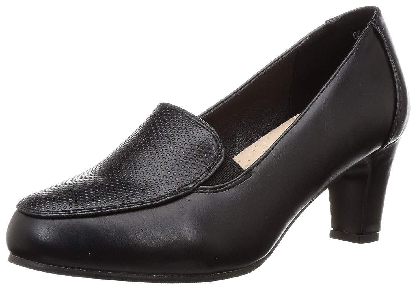 Buy BATA Women's Valene Black Pumps-6