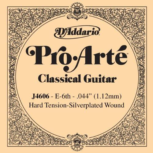 D'Addario J4606 Pro-Arte Nylon Classical Guitar Single String, Hard Tension, Sixth String