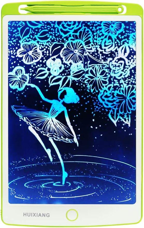 Tablets de Escritura LCD a Color Tablero de Dibujo eWriter 10 Pulgada Gráfica Pizarra Magica de Memo Pad Electrónico Escritura Digital Regalos para Niños Muchachos Chicas Juguetes 3-6 Años (Blanco)