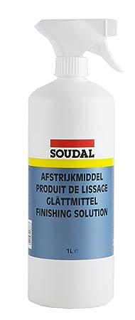 Soudal Glättmittel, zum Glätten von frischen Fugendichtstoffen, Flasche: 1L