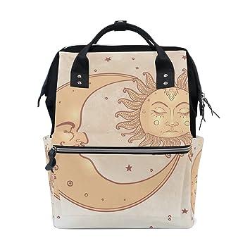 Amazon.com: mapolo Celestial Sol y Luna Estrellas bolsa de ...