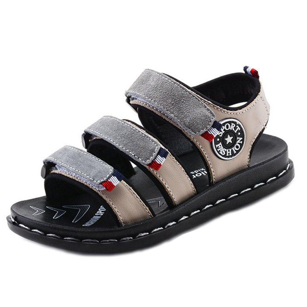 Boys Girls Outdoor Summer Sandals Kids Waterproof Hiking Sport Open Toe Cute Flats Sport Water Shoes by GIY