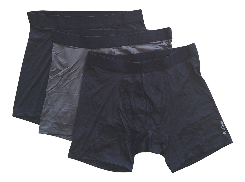 52fe44dd084fa Reebok Mens Breathable 3 Pack Boxer Briefs < Underwear < Clothing ...