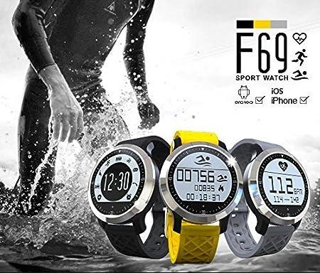 Ipuis natación Reloj Bluetooth SmartWatch IP68 Impermeable ...