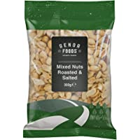 Genoa Foods Mixed Nuts Roasted and Salted, 350 g, Mixed Nuts Roasted and Salted