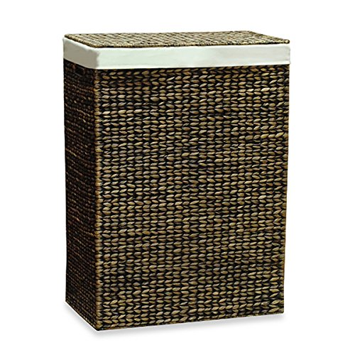 The Classic Lamont Home™ Solei Water Hyacinth Family Laundry Hamper by AitraHome