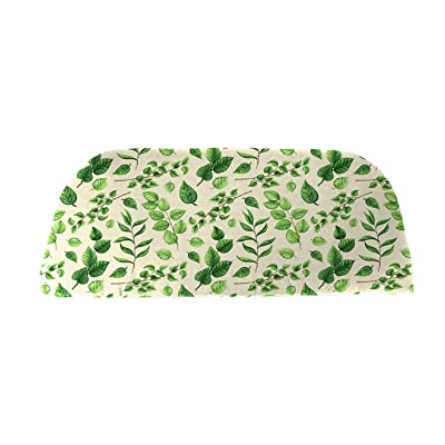 Plow & Hearth Polyester Classic Swing/Bench Cushion - 41 x 18.75 x 3 Leaves : Garden & Outdoor