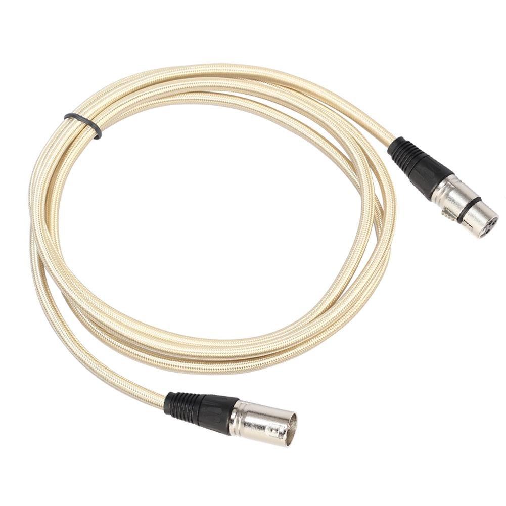 古典 オーディオケーブル Pin、繊維編組3 - Pin XLRオスtoメスオーディオステレオ延長ケーブル( 1.8 ) M 1.8 ) B07B8XXC7S, アトミックゴルフ:b8ef8580 --- vanhavertotgracht.nl