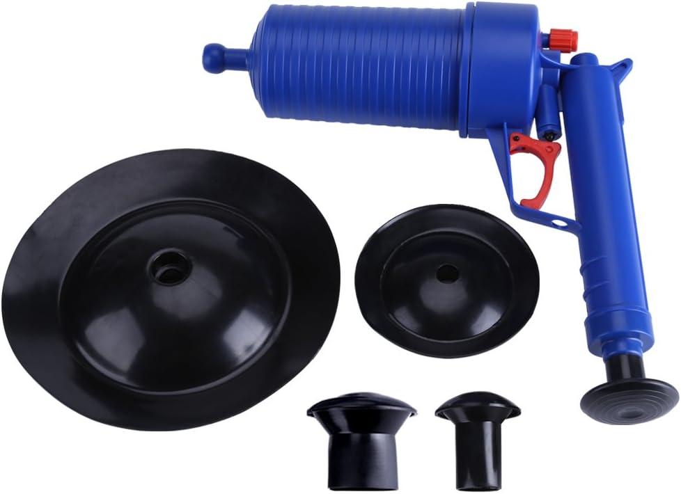 Bomba de Drenaje para Inodoro Dragado Dispositivo Inflador Aseo Succión Bomba Sumergible para Drenaje para Dragado Bañera Lavabo