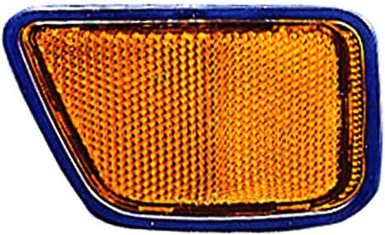 DOT Certified Fits Honda CRV 97-01 Front Reflector Assembly Unit Yellow Lens Passenger Side