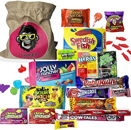 The Americano One | Bolsa de regalo Americano Candy USA | Bolsa De Caramelos Y Dulces Americanos | Candy Hamper Sweets & Chocolate Selection Paquete de cajas | fink gifts: Amazon.es: Electrónica