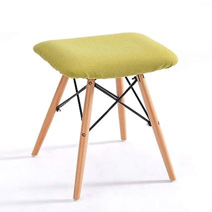 Stupendous Amazon Com Modern Padded Ottoman Stool Footrest Shoe Bench Theyellowbook Wood Chair Design Ideas Theyellowbookinfo