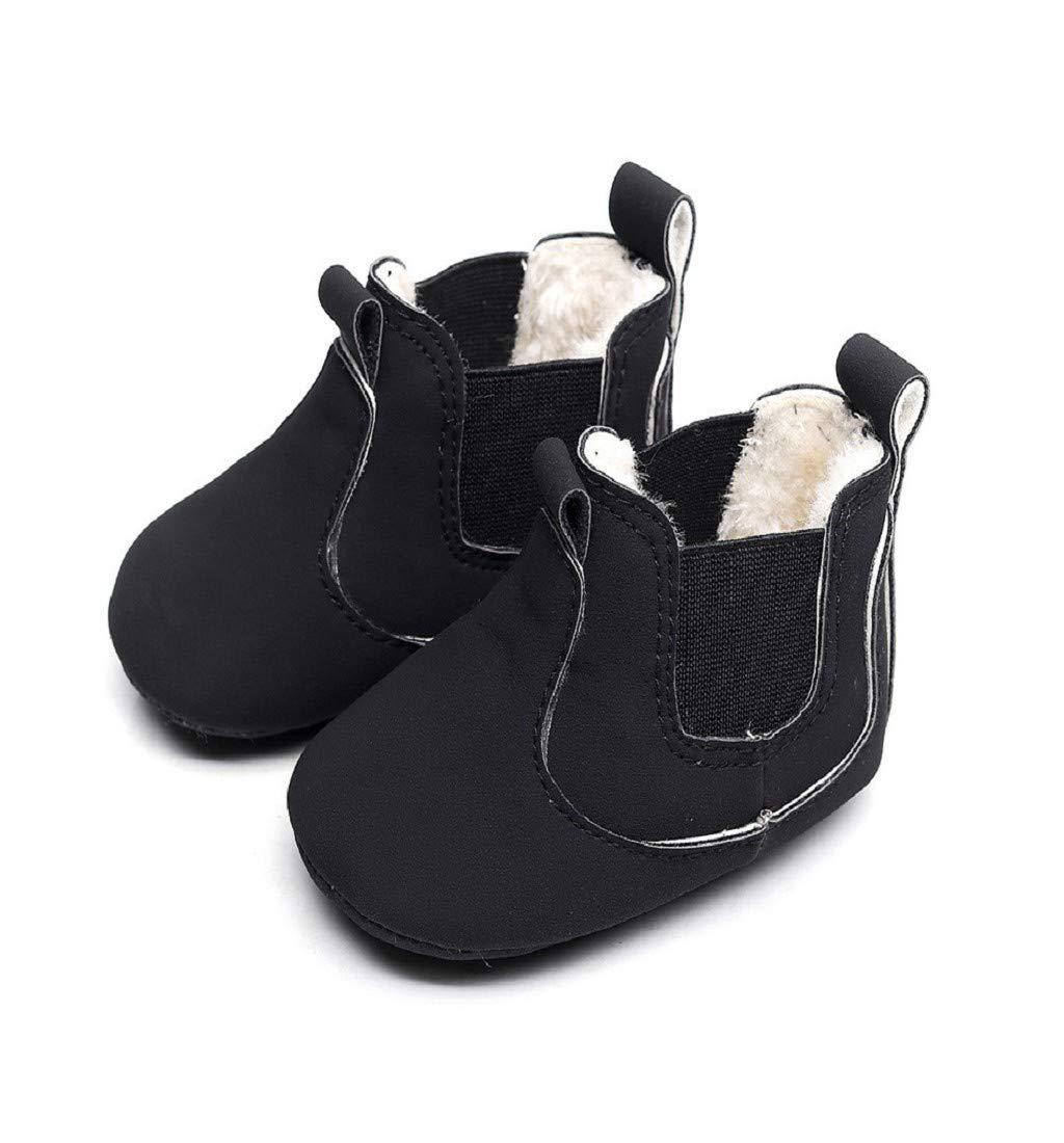 Bébé Nouveau-né bébé garçons fille berceau Bottes d/'hiver Prewalker Chaud MARTIN chaussures