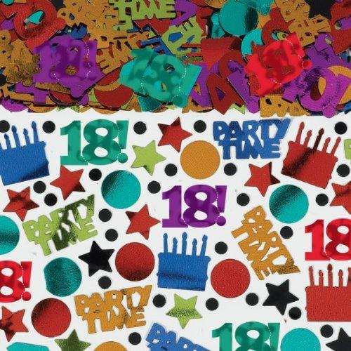 Confetis Mesa de cumpleaños de 18 años (70 g): Amazon.es: Hogar