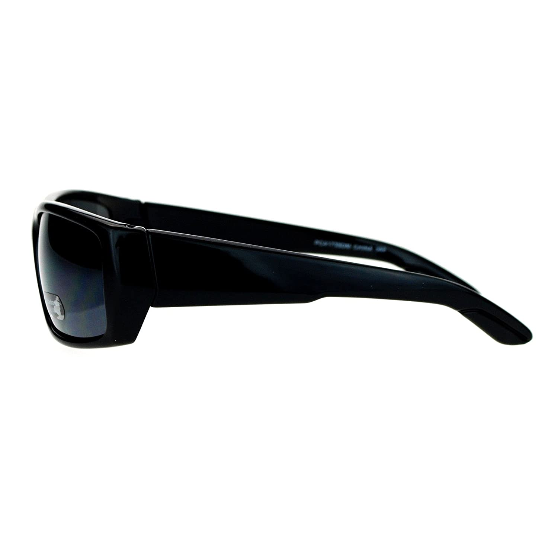 Mens Classic Rectangular Frame Sunglasses Casual Stylish Shades UV 400