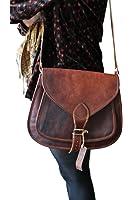 "QualityArt 16"" Leather Purse Women Handbag Tote Leather Crossbody Shoulder Satchel Diaper Bag Travel Handbag Women messenger bag"