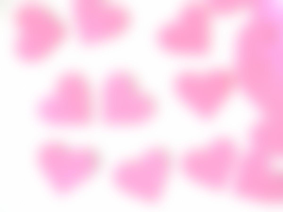Corazones de color rosa para decorar de goma eva Silvys 20 ...