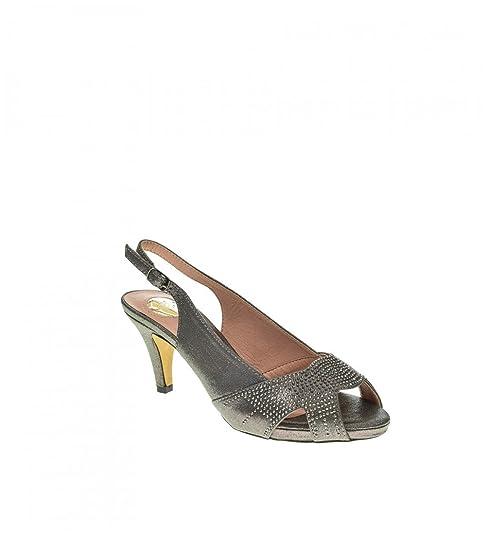 f0bd8f45512 Zapato Fiesta - Mujer - Plomo - destroy - 331821  Amazon.es  Zapatos y  complementos